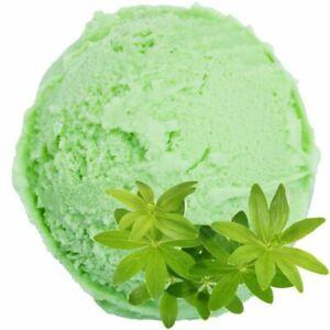 Eispulver Eis Softeis Pulver Waldmeister Geschmack Aroma Speiseeis 1:3 Fertigmix