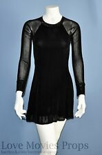 Little Black Date Dress Screen Worn Mae Whitman Used in The Duff Teen Comedy