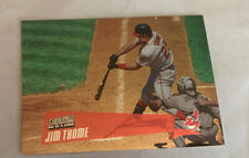 2000 Stadium Club One Of A Kind Jim Thome Indians 29/150