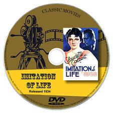 Imitation Of Life 1934 DVD Film Claudette Colbert, Warren William Drama Romance