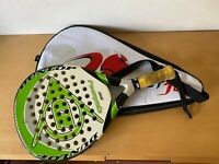 Used - Paddle Racket DUNLOP GALAXY 38 Raqueta de Padel - With Cover Con Funda -