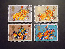 GB 1974 Commemorative Stamps~Britons~Fine Used Set~ex fdc~UK Seller