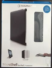 Marware MicroShell Hard Rigid Case for iPad 3 And 4, Black 3rd Or 4th Generation