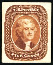 42P4, Superb 1¢ Proof on Card - Stuart Katz