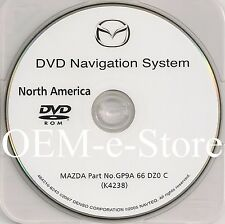 2006 2007 2008 2009 Mazda Mazda3 CX7 CX-7 Navigation DVD Map US Canada Version C