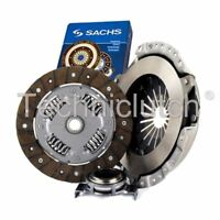 SACHS 3 PART CLUTCH KIT FOR FORD ESCORT HATCHBACK 1.3
