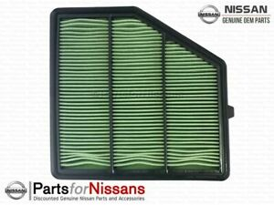 Genuine Nissan Air Filter 16546-6CA0A