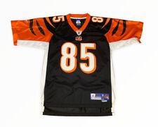 Cincinnati Bengals Chad Johnson #85 Black Reebok Jersey M