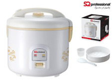 Deluxe Electric Rice Cooker 1.8L 900w With Steamer Tray SQ Professional