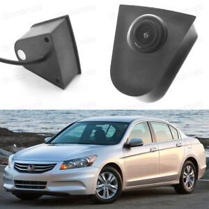Wide Degree CCD Car Front View Camera Logo Embedded for Honda Accord 2008-2012