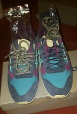 Asics x Bait Gel Saga Phantom Lagoons Dark navy/Green Limited Edition Size UK8