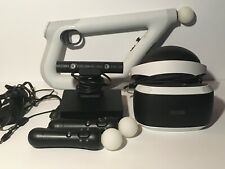 Playstation VR Lot Headset / Controllers / Aim Controller & 19 Games !!!
