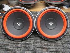 """Pair 10w3 Genuine OEM Cerwin Vega 10"""" woofers for E-710 Vtg Speaker"""