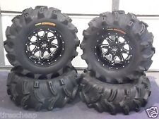 "27"" EXECUTIONER ATV TIRE & STI HD4 WHEEL KIT COMPLETE - LIFETIME WARRANTY IRSL5"