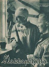 Finland Wartime Magazine Hakkapeliitta 1940 #15 - WWII - Military Hospital