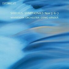 NEW Sibelius: Symphonies Nos. 3, 6 & 7 (Audio CD)