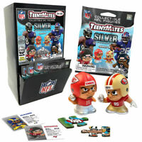 2020 NFL Teenymates Series 9 Silver 32 Packages With Gravity Fill Display