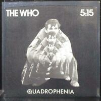 "The Who - 5:15 / I'm One 7"" Picture Sleeve Only Polydor PD 2022 USA 1979"