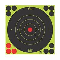 Pro Shot Splatter Shot Bullseye Peel/Stick Targets Green 6/Pk 8BGREEN6PK