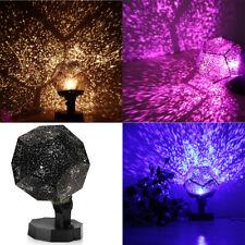 Star Sky Projector Night Bulb/Lamp/Light Romantic Cosmos Astro Galaxy Home Decor