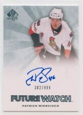 11/12 SP AUTHENTIC FUTURE WATCH ROOKIE AUTO #269 PATRICK WIERCIOCH /999 *52343