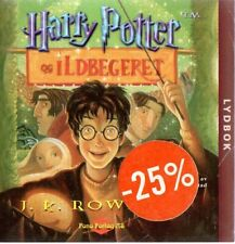 CD HÖRBUCH NORWEGISCH: Harry Potter og Ildbegeret, 20 CD Norwegian Norway