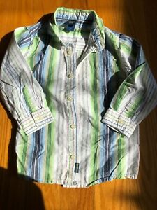 Oshkosh Long Sleeve Dress Shirt Size Boys Size 4t