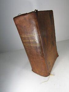 LE MAISTRE DE SACY-LA SAINTE BIBLE-ANCIEN ET NOUVEAU TESTAMENT -Relié-1821 /