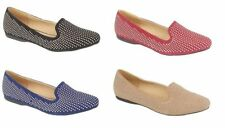 Faux Suede Casual Loafers, Moccasins Flats for Women