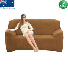 Stretch 2 Seater Sofa Lounge Couch Cover Slipcovers Protector Elastic Fit Easy