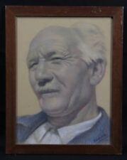 Théophile VERDEAU (1884-1956) Portrait Autoportrait ? né à Moulins-sur-Allier