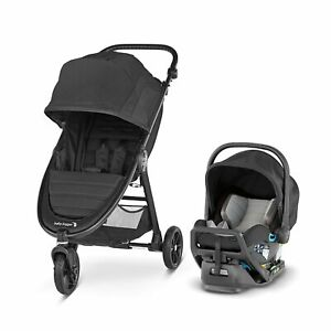 Baby Jogger City Mini GT2 Travel System, Jet - NEW! Creased Box