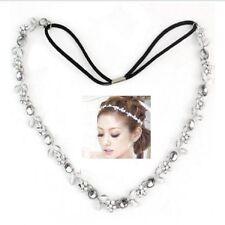 Headband Flowers Necklace Wedding Communion Statement Hairband Hair Chain Head