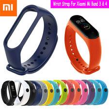 Для Xiaomi Mi Band 3 4 сменные спортивные наручные часы группы ремень ремень браслет