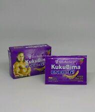 KUKU BIMA E-NER-G DRINK GRAPE GINSENG 10 BOXES (60 SACHETS @4.5GM) W TRACKING