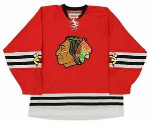 CCM NHL Men's Chicago Blackhawks Team Classic Jersey, Red