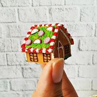 Snowman Christmas Cake Dollhouse Miniature Food Bakery Holiday Season X/'mas 13