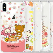 Genuine Rilakkuma Lovely Clear Jelly Case Galaxy S20 S20 Plus S20 Ultra Case