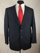 English Manor Men's Grey Striped Blazer 44R $595