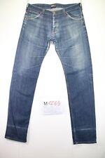 Lee Powell Slim Stretch(Cod. M1285) tg 50 W36 L36 jeans vita alta usato