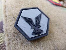 JTG Selous Scouts Hexagon Patch, steingrau oliv schwarz / JTG 3D Rubber Patch