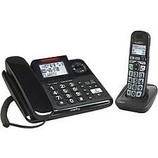 Clarity Amplified Corded And Cordless Phone System With Digital Answering Sys...