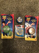 4 BRAND NEW Disney Toy Story2  Moving Buzz Picture  Yoyo FACTORY SEALED