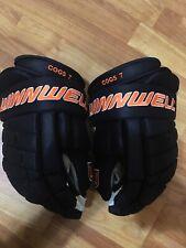 Anaheim Ducks Andrew Cogliano Winnwell Hockey Gloves 14