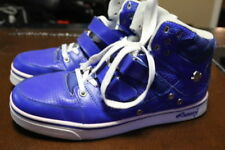 VLADO KNIGHT IG-1160-2 MENS BLUE LEATHER HI-TOP ATHLETIC SHOES SIZE 9
