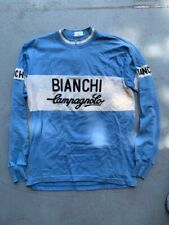 Bianchi Campagnolo Long Sleeve Wool Cycling Jersey - Extra Large