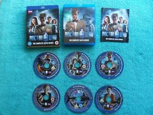 BBC DOCTOR WHO the complete sixth series - 6 disc set - blu-ray