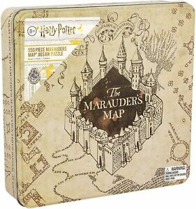 Harry Potter Marauders Map Family Jigsaw Puzzle 550 Piece New In Collectible Tin