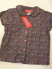 Gymboree Chelsea Girl New Button up Top Size 3
