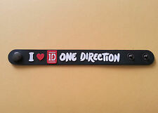 SILICONE RUBBER ROCK MUSIC FESTIVAL WRISTBAND/BRACELET:- ONE DIRECTION 1D